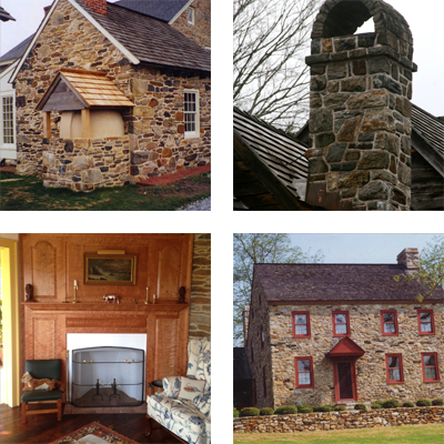 a collage of restoration projects from our gallery