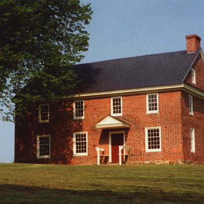 a fully restored brick building