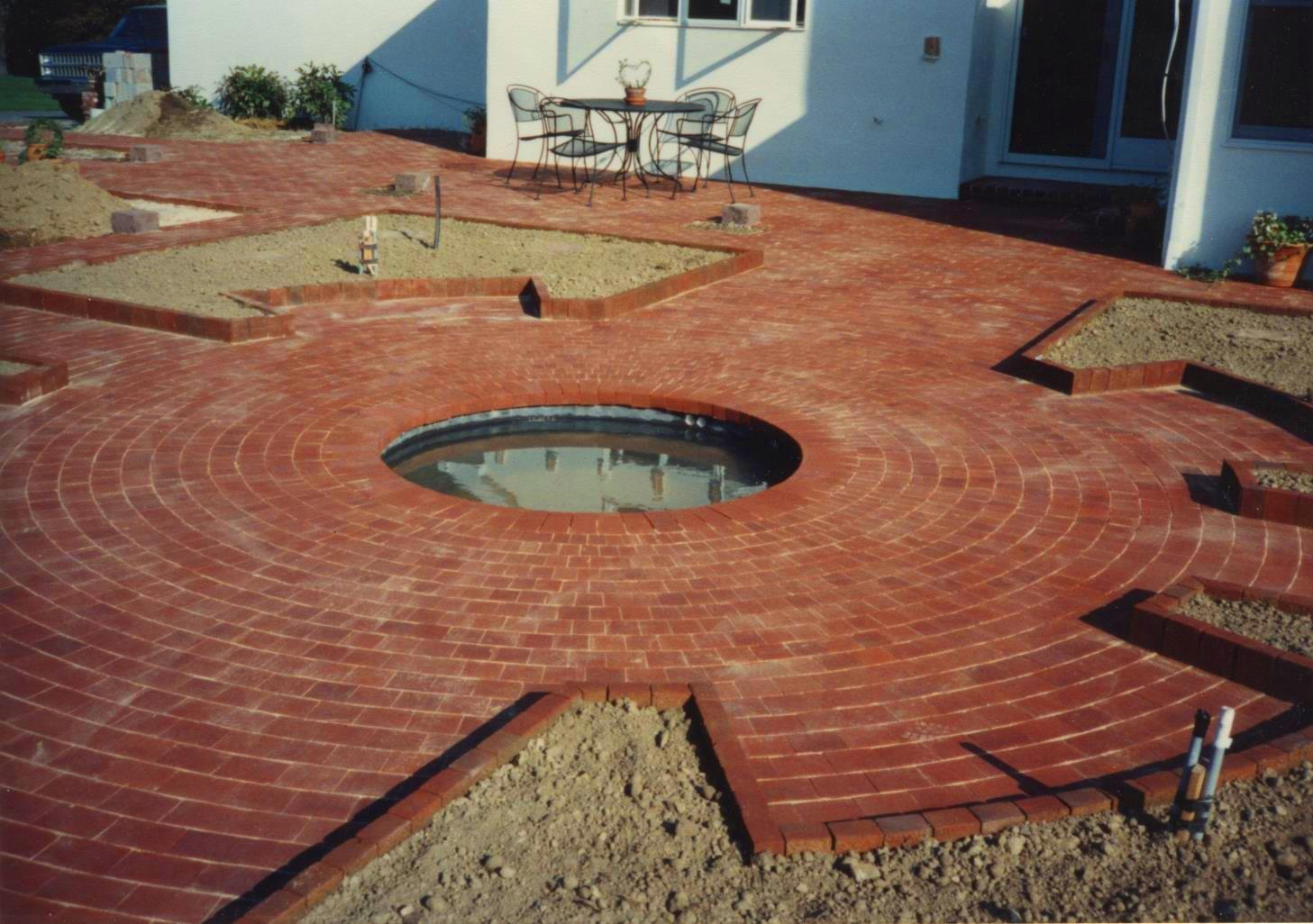 Brick Sidewalks Patios Outdoor Brick Walks Paths - Brick patios