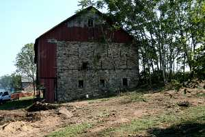 an old barn in need of restoration