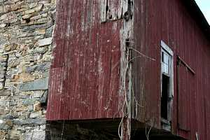 old barn in need of restoration