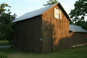 old barn before restoration