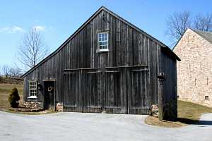 a custom built carriage shed