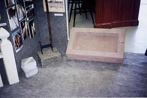 Several examples of custom stone cutting work