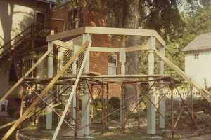 framing a gazebo