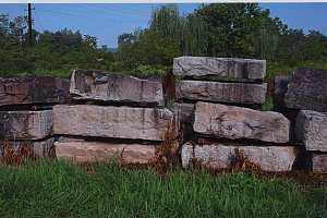 large stones for historical building material